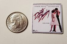 "Dollhouse Miniature Record Album 1"" 1/12 scale Barbie  Dirty Dancing Musical"