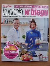 BOOK - Be Active - EWA CHODAKOWSKA & TOMEK WOZNIAK - KUCHNIA W BIEGU - NOWOSC!