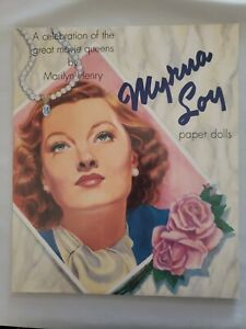 Myrna Loy Uncut Booklet 1995 Paper Dolls NEW BY MARILYN HENRY