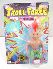 TROLL FORCE Wrestlers - Mohawk Troll Actionfigur TOYS N' THINGS Neu (K88)