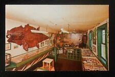 1970s Interior Perry's Tropical Nut House Dead Alligator Skin Belfast ME Waldo C