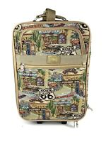 Vintage Pioneer Express Route 66 Luggage Set