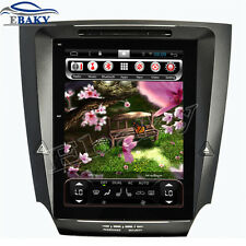 10.4inch Vertical Screen Android 4.4 Car DVD Radio for LEXUS IS250 IS300 IS350