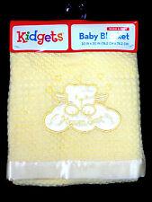 "Kidgets Baby Blanket ""Heaven Sent"" Warm & Cozy size 30 x 30  NWT"