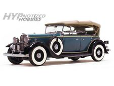 SUNSTAR 1:18 1932 FORD LINCOLN KB TOP UP DIE-CAST BLUE 6161