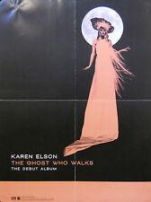 KAREN ELSON, THE GHOST WHO WALKS POSTER (M7)