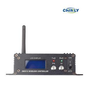 DMX512 LED Display Wireless 2.4G Hz Transmitter Lighting Control for Laser Light