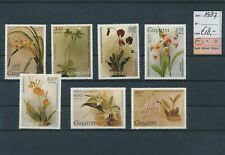LM39722 Guyana 1987 flowers nature fine lot MNH cv 18 EUR