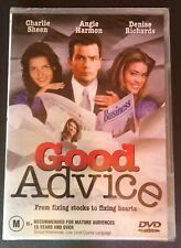 GOOD ADVICE Charlie Sheen, Angie Harmon, Denise Richards, Rosanna Arquette DVD