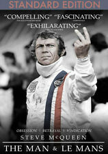 THE MAN & LE MANS (Steve McQueen) - DVD - Region Free - Sealed