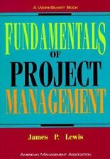 NEW - Fundamentals of Project Management (Worksmart Series)