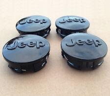 4×64mm Wheel Center Caps Hub Caps Emblem Badge Fit For Wrangler Liberty Cherokee