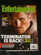 ENTERTAINMENT WEEKLY 2009 Christian Bale Terminator Tirade, LOST, Jon & Kate +8