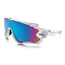 Occhiali da sole da uomo con lenti in multicolore con montatura in bianco 100% UV
