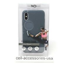 White Diamonds Fitness Soft Touch Anti Slip Case for iPhone X/XS - Gray