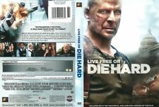 """""""Live Free Or Die Hard"""" Dvd (New/Sealed) Starring: Bruce Willis, Justin Long"""