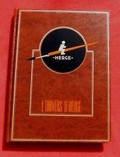 L'Univers d'Hergé tome 5. illustrations : livres, cartes etc Rombaldi 1987. NEUF