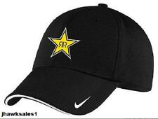 Rockstar Nike Golf - Dri-FIT Mesh Swoosh Flex Sandwich Cap Black (SM/MD) *NEW
