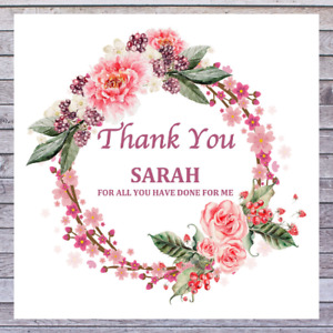 PERSONALISED THANK YOU CARDS - GOOD LUCK CARDS - CONGRATULATIONS CARDS