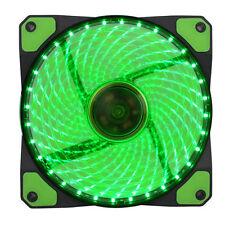 GameMax 12cm GREEN LED PC FAN 32x LEDS GMX-GF12G Sleeve Bearing 12V Quiet [03]