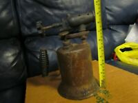 Vintage Antique Turner Brass Soder Torch Gas Blow Torch (5)