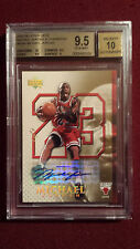 Michael Jordan 2005-06 Upper Deck Gold Signature Auto True 1/1 BGS 9.5/10 Gem Mt