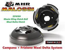 5216184 Campana +Frizione Maxi Delta System MALOSSI per HONDA Forza 300 dal 2018