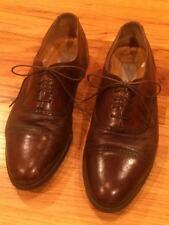 Mezlan Men's 10.5 Brown Dress Shoe Cap Toe Oxford Florence