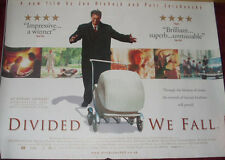 Cinema Poster: DIVIDED WE FALL 2000 (Quad) Bolek Polívka