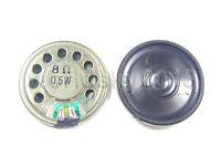 2pcs New 30mm 8Ohm 8Ω 0.5W Audio Speaker Stereo Woofer Loudspeaker Trumpet Horn