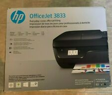 HP OfficeJet HP3833 All in One Printer NEW Factory Sealed in Box HP 3833