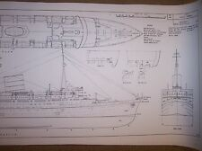 R M S CARONIA ship boat model plans