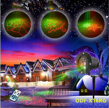 Xmas Outdoor Laser Projector New RG 20 Full Gobo Event Landscape Yard Light Show