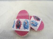 handmade Doll Clothes Shoeswhite disney frozen elsa/anna fit most 18 inch dolls