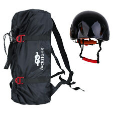 Rock Climbing Rope Bag + Safety Helmet,Scaffolding Construction Rescue Equip