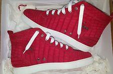Christian Louboutin Red Suede Crocodile Skin Louis Sneaker Size 41.5/42 ($8000)