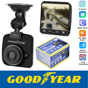 Goodyear Mini HD Dash Cam Car DVR Camera Video Recorder Motion Detection Sensor