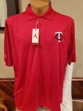 BEAUTIFUL Minnesota Twins Men's Sz XL Red Antigua Polo Dress Shirt, NEW&NICE!