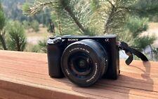 Sony Alpha a6100 24.2MP Mirrorless Camera - Black
