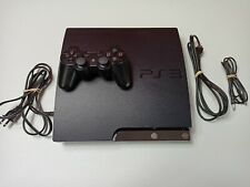 Sony PlayStation 3 Slim  CECH-2501B 320GB Console - Charcoal Black / Tested