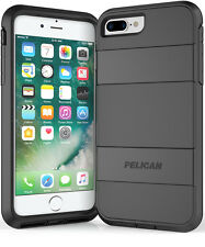 Pelican Voyager iPhone 6S Plus / 7 Plus  Rugged Case w/Belt Clip Holster BLK/BLK