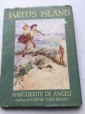 Jared's Island, Marguerite de Angeli, 1947 1st Ed