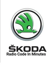 Skoda Radio Codice Pin Sbloccare Decodificare Swing Sinfonia RNS315 Bolero Stream Blues