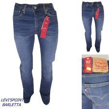 levis jeans levi's uomo 513 slim stright stretch W 30 31 32 33 34 36 38 40 42 44