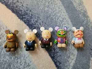 Muppet vinylmation figures.