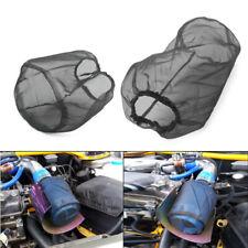 1 pc Car Air Filter Dust Cover Dustproof Waterproof Oil-proof Outwear Black