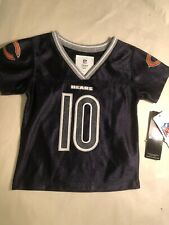 4b1df8d7e Black Mitch Tribisky Chicago Bears Infant Girls Game Jersey Size 4T
