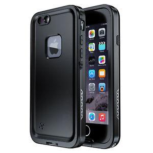 For Apple iPhone 7 / 8 Plus Waterproof Shockproof Case Built-in Screen Protector