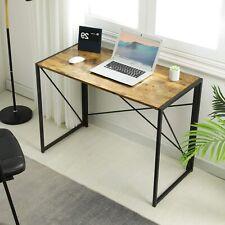 Schreibtisch Klapptisch Computertisch Bürotisch Arbeitstisch Laptop Tisch Retro