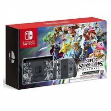 Consola Nintendo switch Eedicion Super Smash Bros codigo descarga